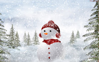 Christmas Snowman HD Wallpapers