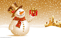 Christmas Snowman wallpapers
