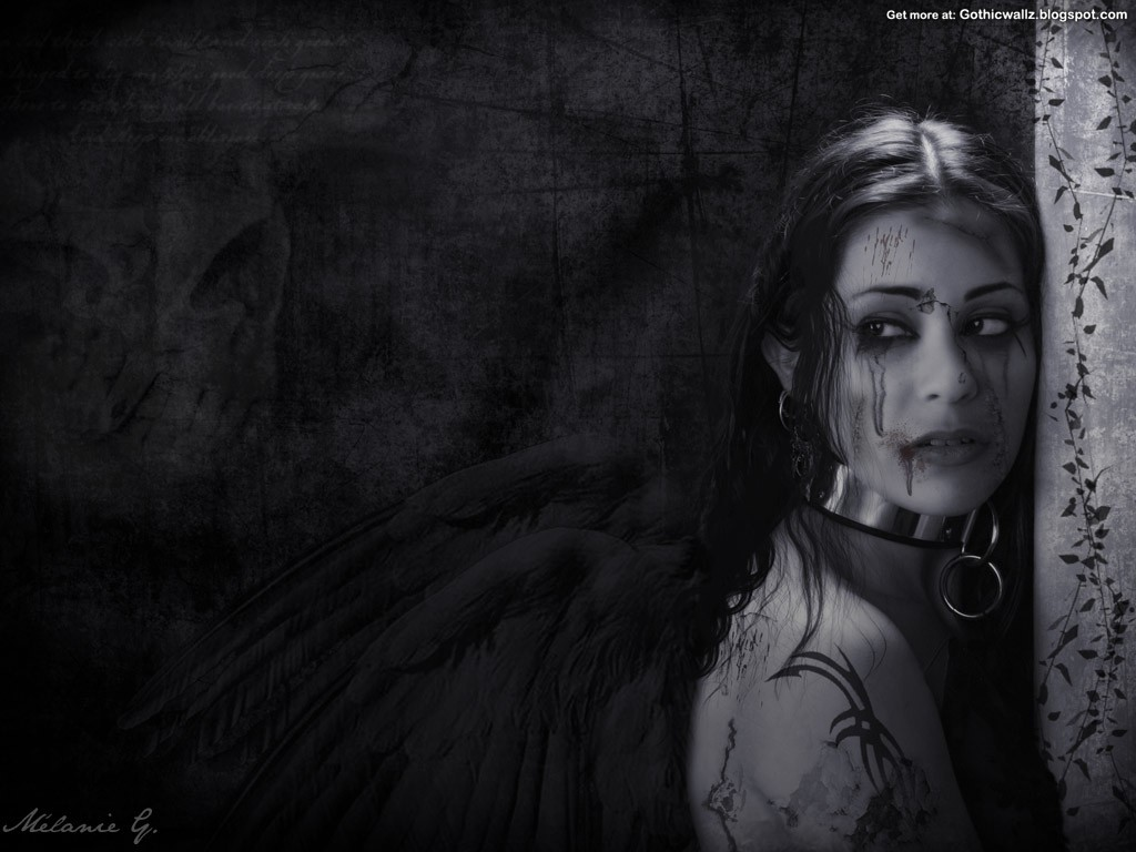 dark horror gothic angel - photo #9