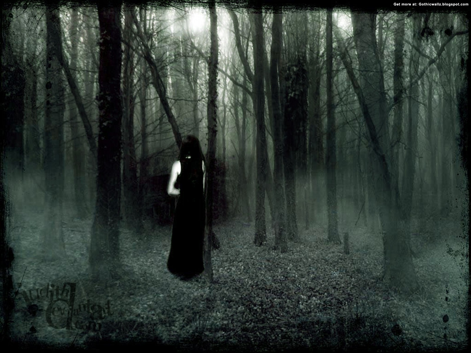 Discover the Secret | Gothic Wallpaper Download