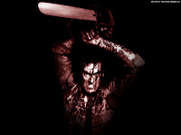 Killer With Chainsaw | Dark Gothic Wallpapers