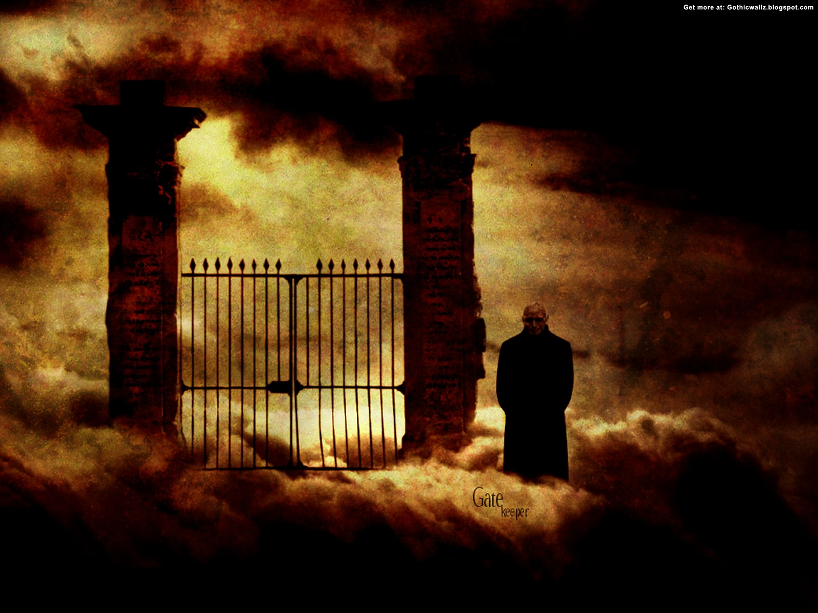 Gate keeper | Gothic Wallpaper Download