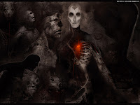 Faces Of Evil | Dark Gothic Wallpapers