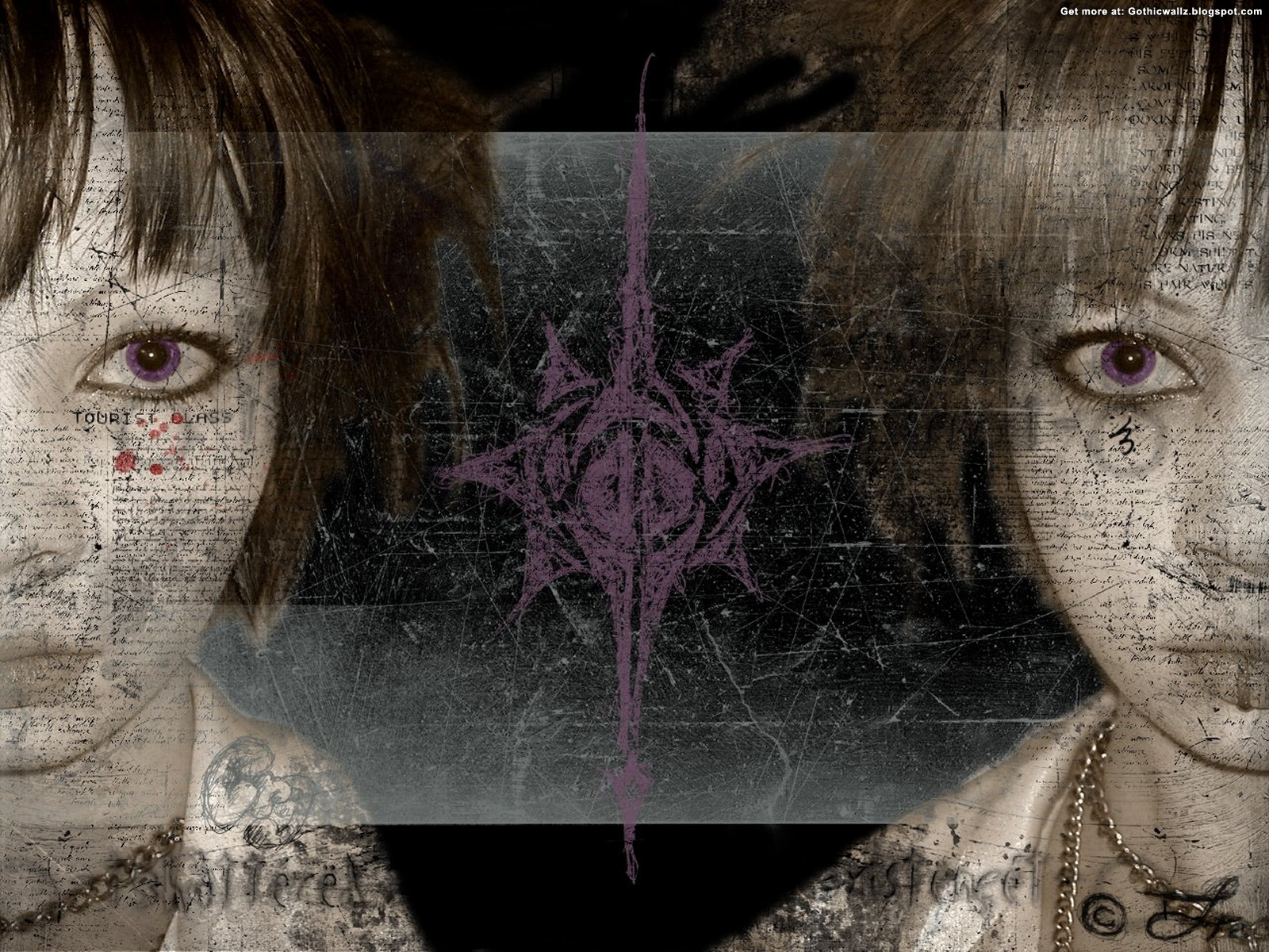 Gemini The Twins | Gothic Wallpaper Download