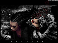 Dark Art Long haired | Dark Gothic Wallpapers