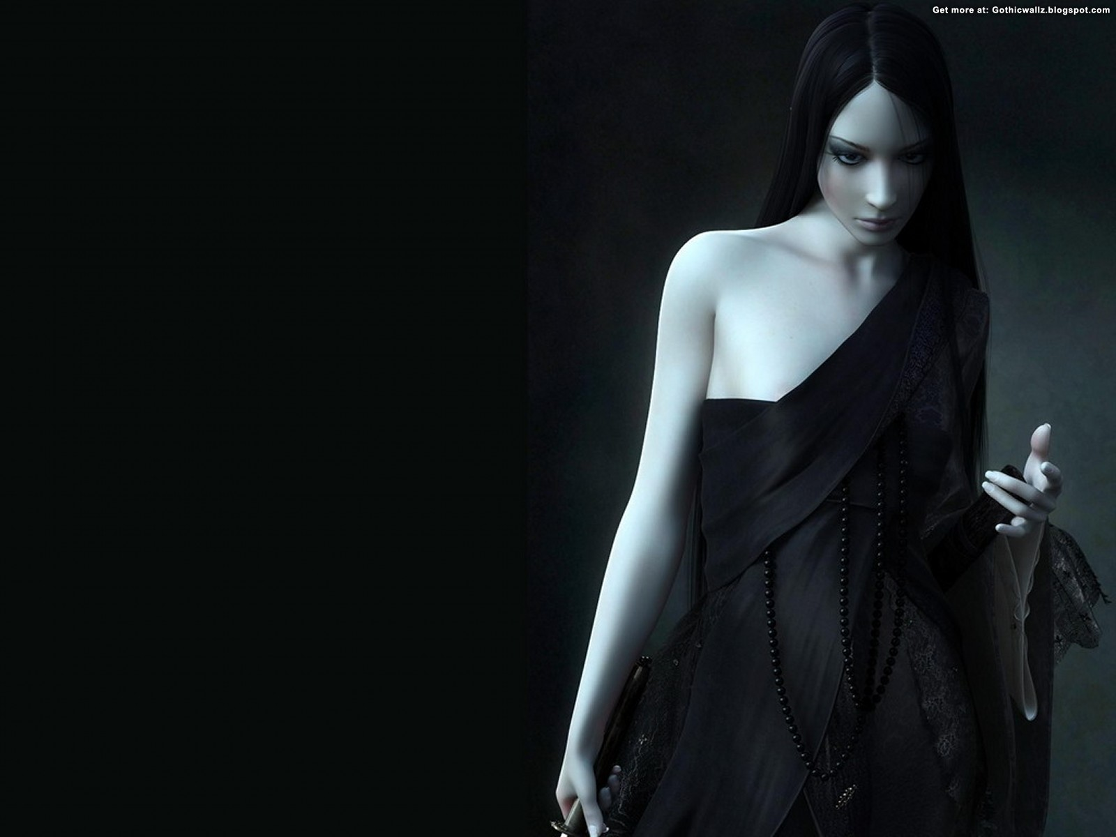 Dark Sculpture | Gothic Wallpaper Download