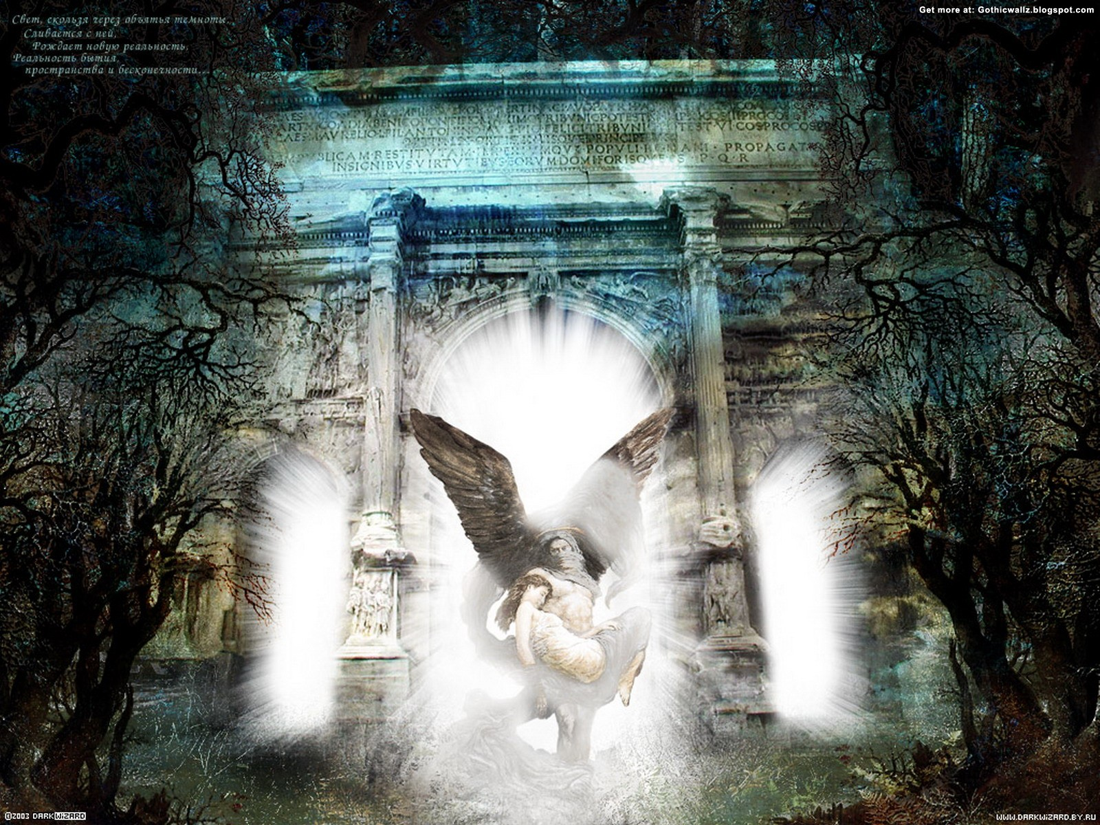Goth Angel | Gothic Wallpaper Download