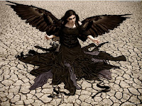 Goth Lady Angel | Dark Gothic Wallpapers