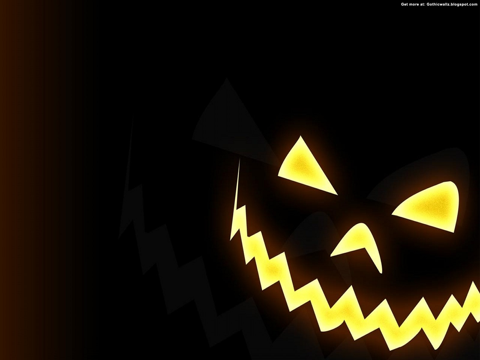 halloween face | Gothic Wallpaper Download