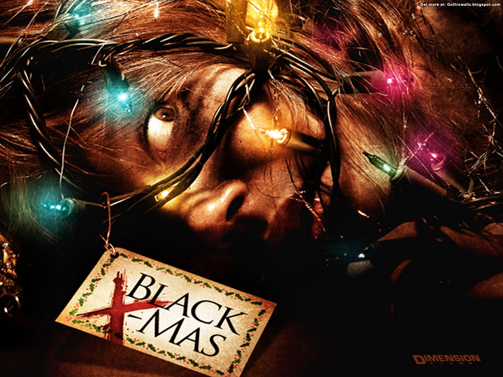 Black Christmas Wallpaper 3 | Gothic Wallpaper Download