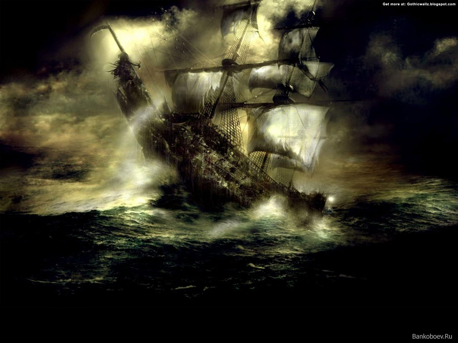 Gothic Warship | Gothic Wallpaper Download