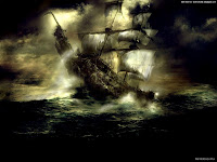Gothic Warship | Dark Gothic Wallpapers