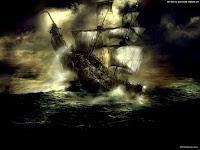 Gothic Warship | Dark Gothic Wallpapers
