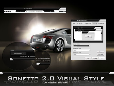 Sonetto 2 0 Visual Style by burnsplayguitar Download tema Windows xp sonetto