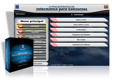 Curso Interativo de Informática Para Concursos informatica para concursos