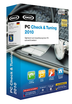 Download  MAGIX PC Check & Tuning 2010 + Crack