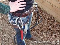 Klettergurt und Ausrüstung