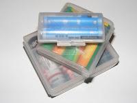 Batteriebehältnisse - Batterien-Kunststoff