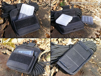 Maxpedition Volta Battery Case mit Batuca Batterie Box Ansichten
