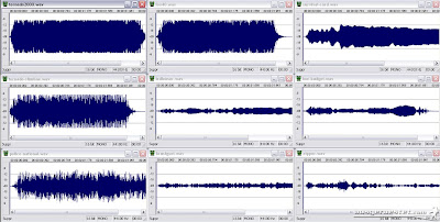 Signalpfeifen Vergleich Amplituden