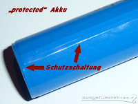 protected Li-Ion Akku