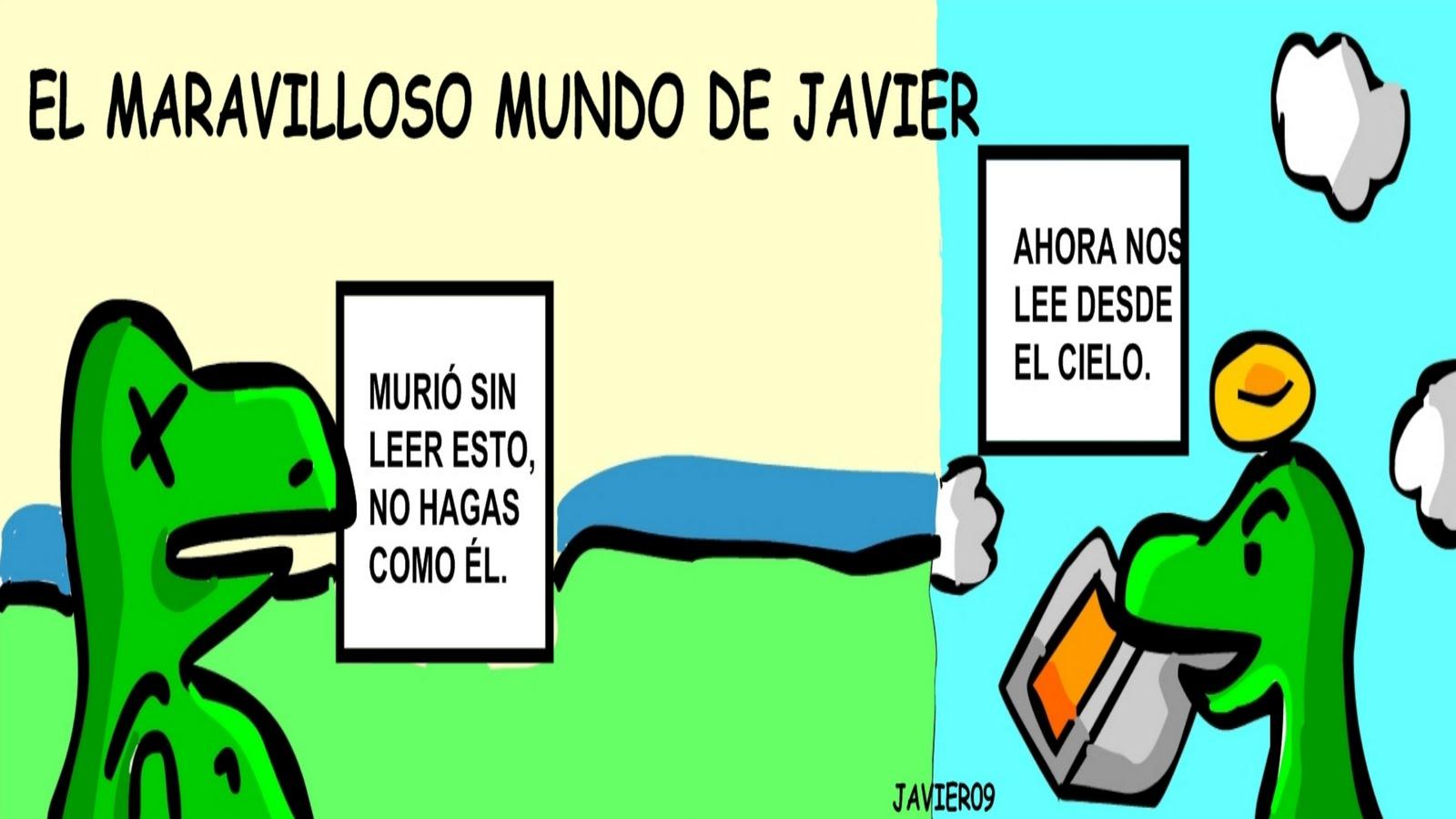 EL MARAVILLOSO MUNDO DE JAVIER