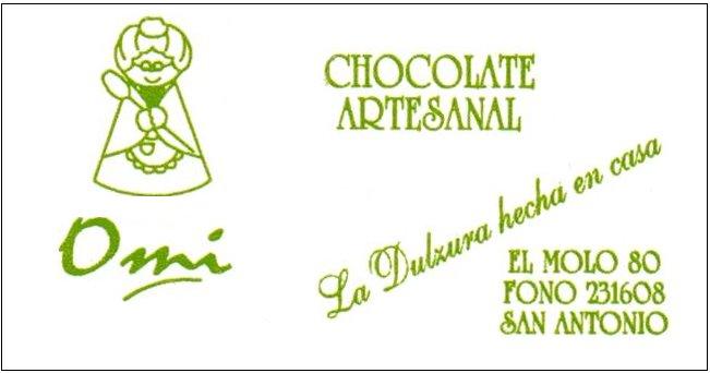 Chocolateria Omi ..  La Dulzura Hecha en casa