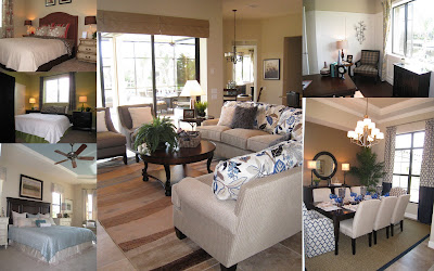 Model Home Decorating Pictures