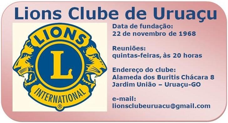 Lions Clube de Uruaçu