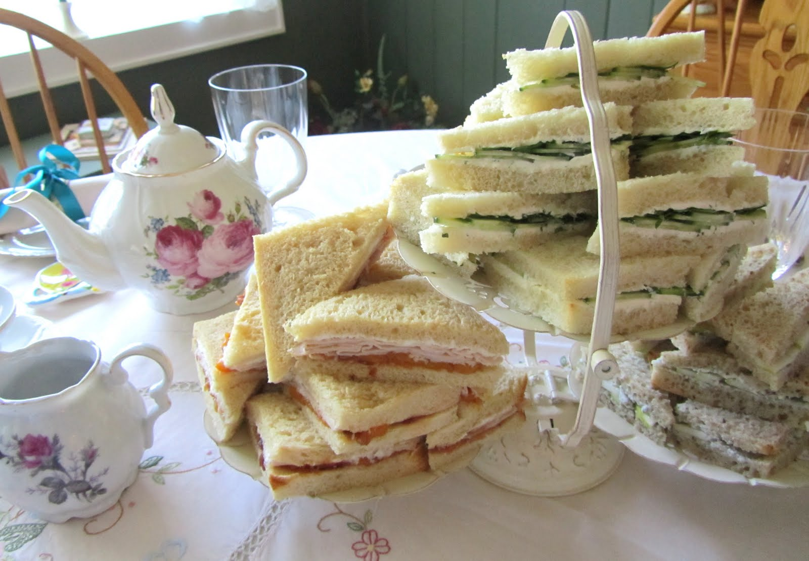 3 Tier Tea Sandwich Stand
