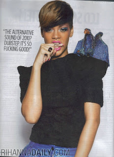 Rihanna in NME Magazine