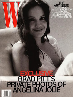 Angelina Jolie Breastfeeding On The Cover Of W Pictures