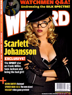 Scarlett Johansson - Wizard Magazine December 2008