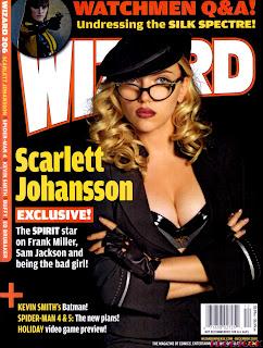 Scarlett Johansson - Wizard Magazine December 2008