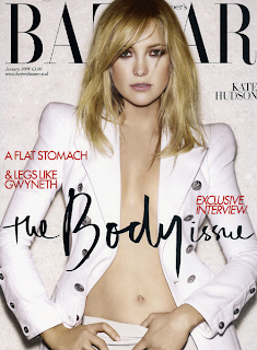 Kate Hudson UK Harpers Bazaar January 2009