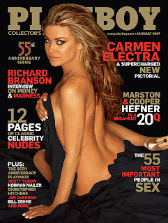 Carmen Electra New Playboy Cover Pictures