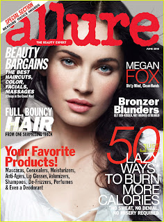 Megan Fox Covers Allure Magazine's June Issue