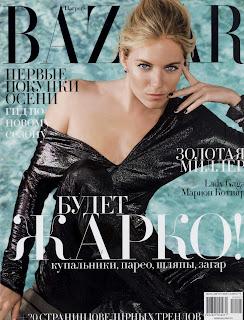Sienna Miller Does July Harper's Bazaar Russia
