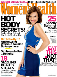 Mandy Moore Looks Sultry And Sexy In Women's Healt h Magazine