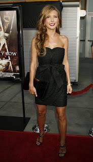 Audrina Patridge Sexy In Black Dress