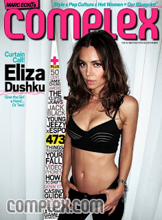 Eliza Dushku - Complex magazine