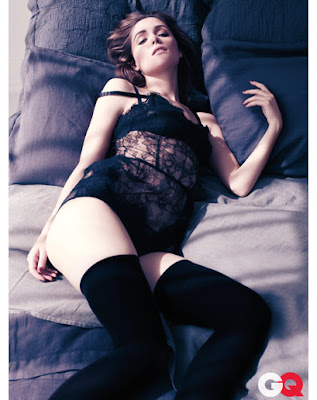 Rose Byrne Strips For GQ Mag