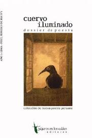 CUERVO ILUMINADO. Pájaros en los Cables Editores. Lima, 2010
