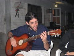 Santi plays a little ditty