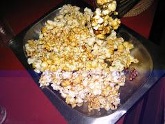 Homemade caramel popcorn!