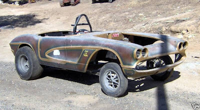 Dinosaurs And Robots Quot Halfbreed Quot Corvette Gasser Found
