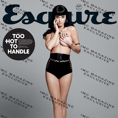 katy perry in topless su esquire
