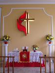 Altar da Igreja Metodista Jardinópolis