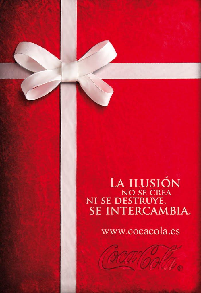 Richard navarro publicista coca cola para esta navidad - Regalos coca cola ...