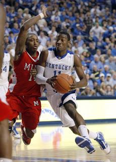 Kentucky Basketball Star John Wall